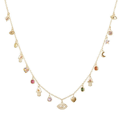 Gold Plated Axel Necklace