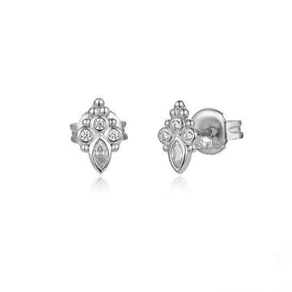 Sterling Silver Erini Earrings