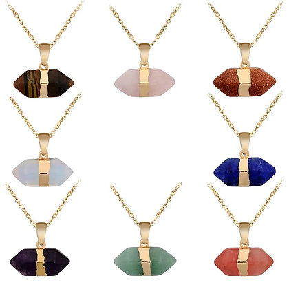 Gold Plated Crystal Necklace