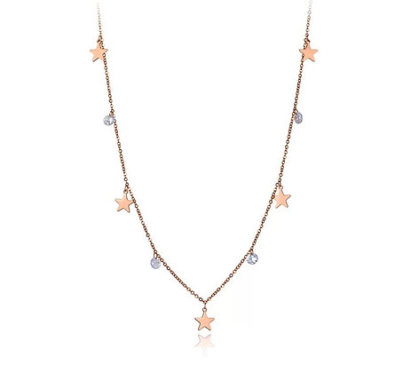 Rose Gold Plated Stargaze Necklace