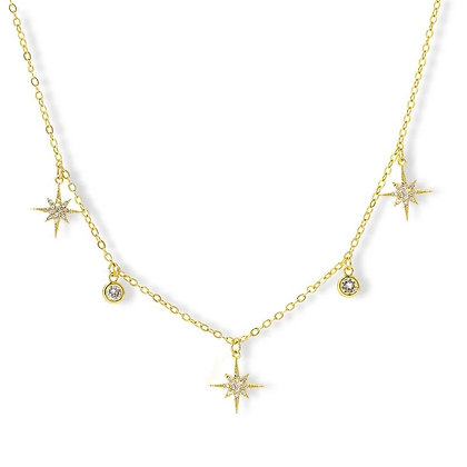 Gold Plated Adrial Necklace