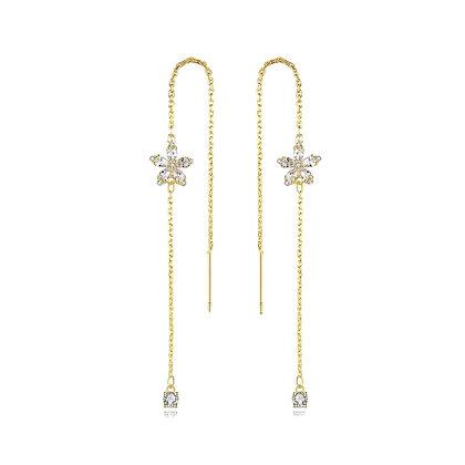 Gold Plated Margaret Earrings