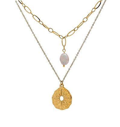Gold Plated Penelope Necklace