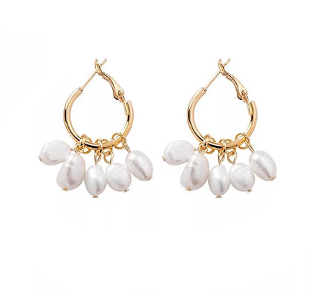 Gold Plated Maria Earrings
