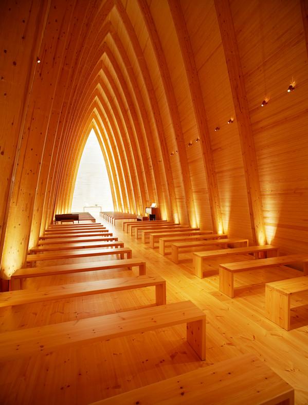 St. Henry's Ecumenical Art Chapel, Photographer By Kimmo Räisänen; Designer / Manufacturer: Matti Sanaksenaho