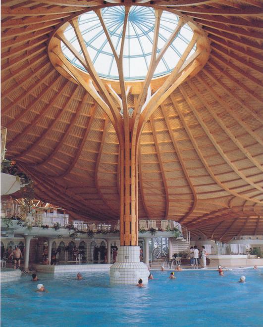 Picture of Solemar salt-water baths inBad Dürrheim, Germany