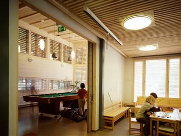 Children's playground building, Photographer: Mikko Auerniitty; Designer / Manufacturer: Architectural Office Ilkka Tukiainen