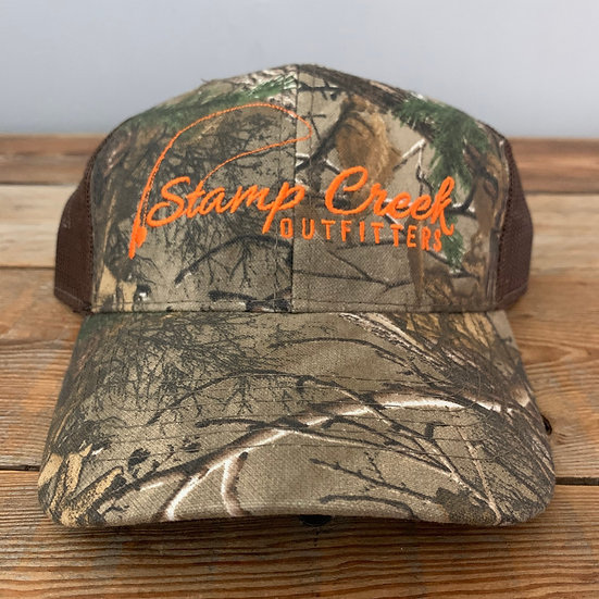 REALTREE Camo-Orange Stamp Creek Outfitters