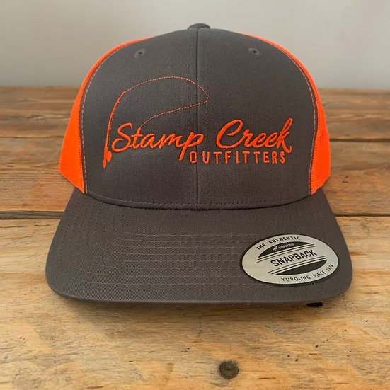 Charcoal-Orange Stamp Creek Outfitters