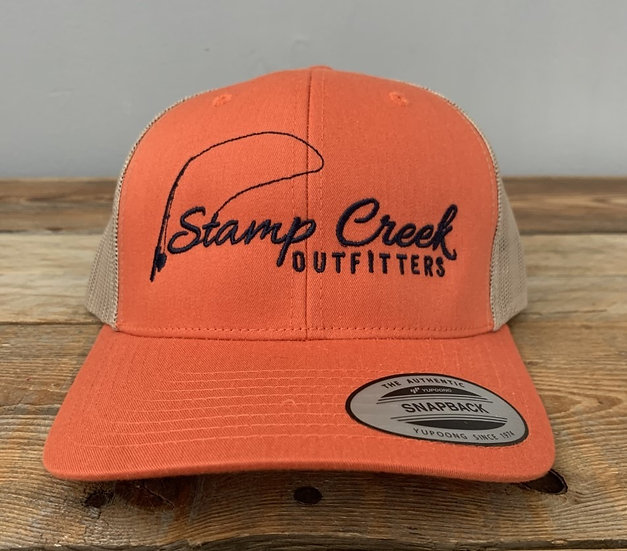 Orange-Blue Stamp Creek Outfitters