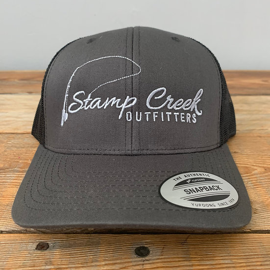 Charcoal-Silver Stamp Creek Outfitters