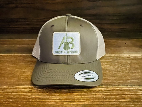 AB Brown-Tan Trucker Hat