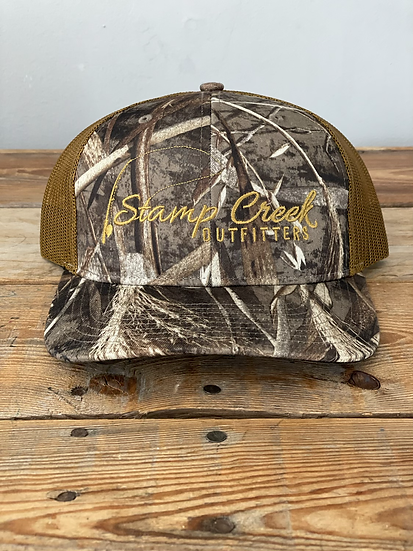 REALTREE Richardson Max-5 Camo-Light Gold Stamp Creek Outfitters