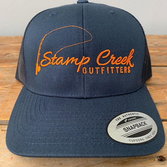 Solid Blue-Orange Stamp Creek Outfitters