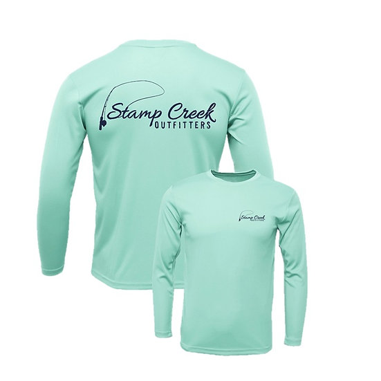Seafoam Stamp Creek Outfitters Long Sleeve
