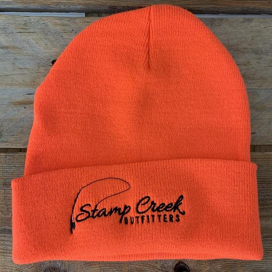 Orange Toboggan Stamp Creek Outfitters