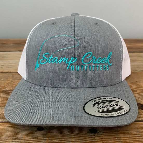 Light Gray-Teal Stamp Creek Outfitters