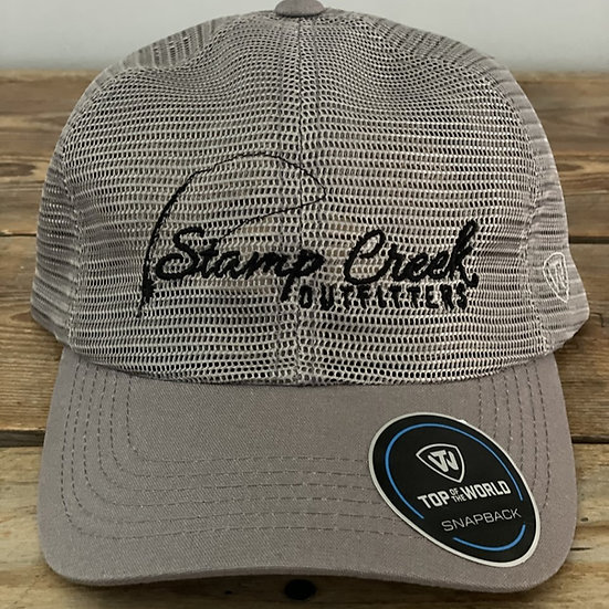 Gray Mesh-Black Stamp Creek Outfitters