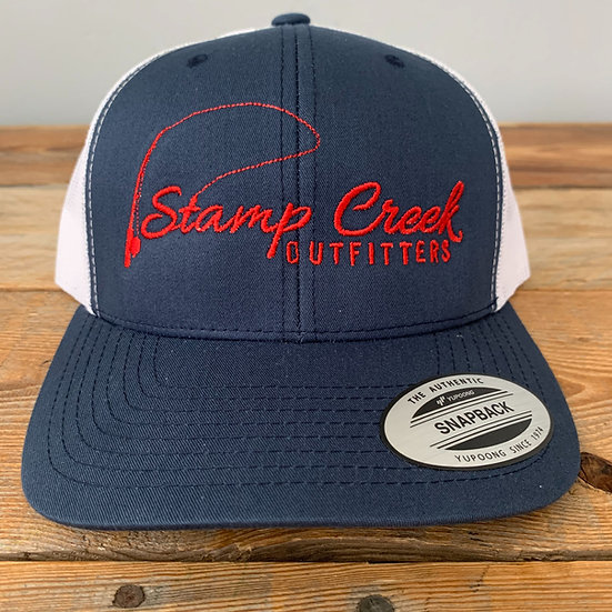 Blue-Red Stamp Creek Outfitters