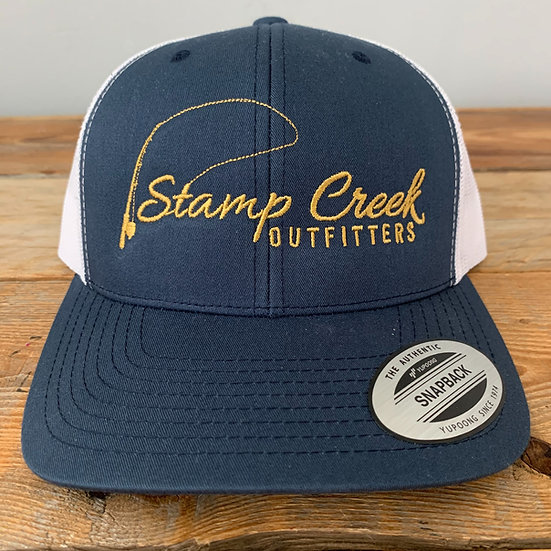 Blue-Gold Stamp Creek Outfitters