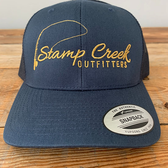 Solid Blue-Gold Stamp Creek Outfitters