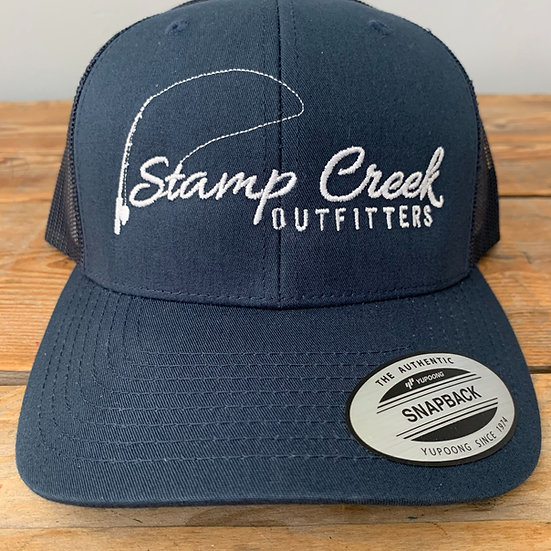 Solid Blue-White Stamp Creek Outfitters