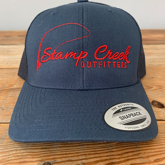 Solid Blue-Red Stamp Creek Outfitters