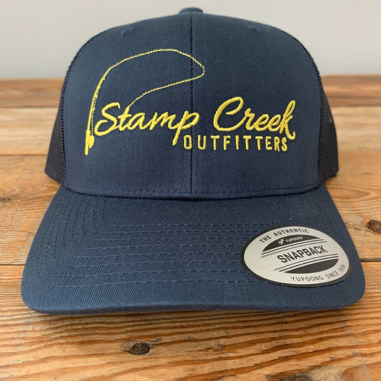Solid Blue-Yellow Stamp Creek Outfitters
