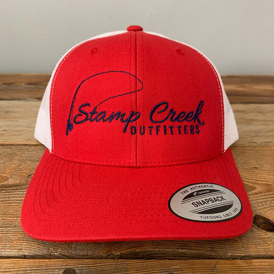 Red-Blue Stamp Creek Outfitters