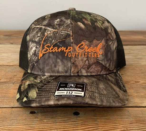 REALTREE Richardson Camo-Orange Stamp Creek Outfitters