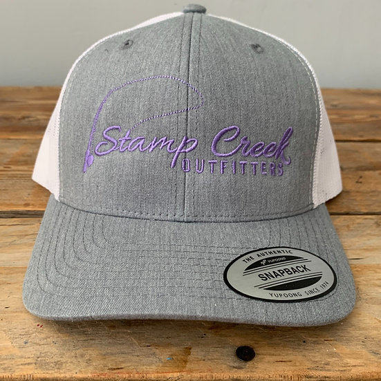 Light Gray-Purple Stamp Creek Outfitters
