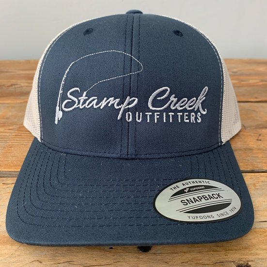 Blue-Silver Stamp Creek Outfitters