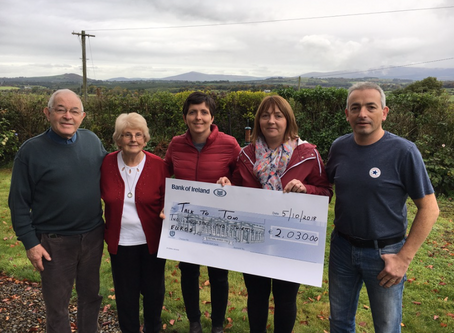 'Walk With Us' event raises over €2,000 for Talk To Tom