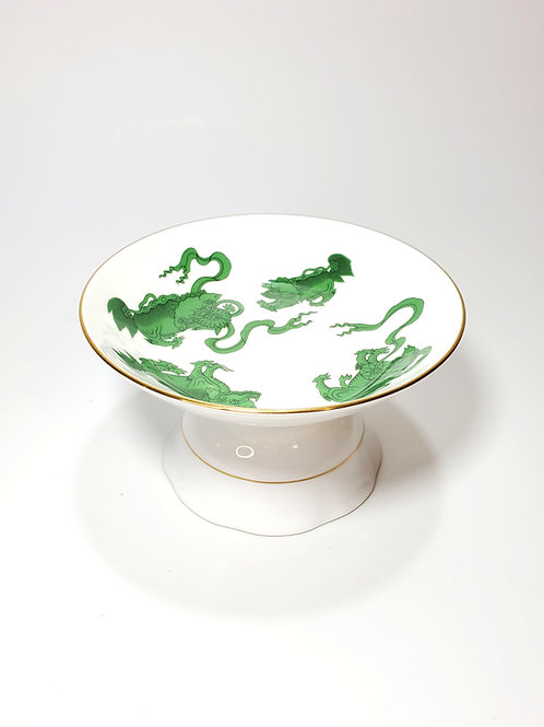 Emerald Chinese Tigers Elevated Pet Food Dish