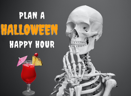 Plan a Halloween Happy Hour!