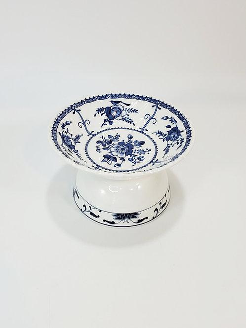 Little Blue Bird Elevated Food Bowl
