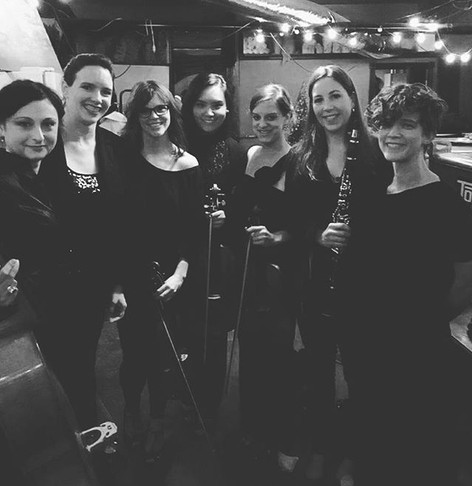 All of us after our concert at the Pittsburgh Winery