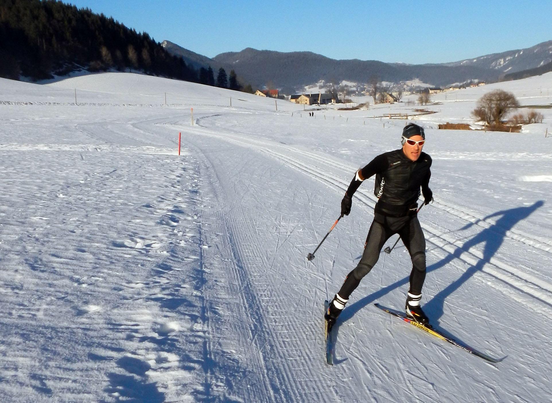 Ski de fond Rémi Loubet