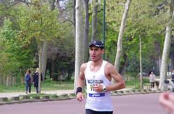 Raphaël Combat marathon de Paris