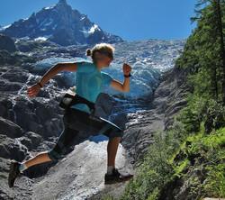 Céline Combaz Glacier trail