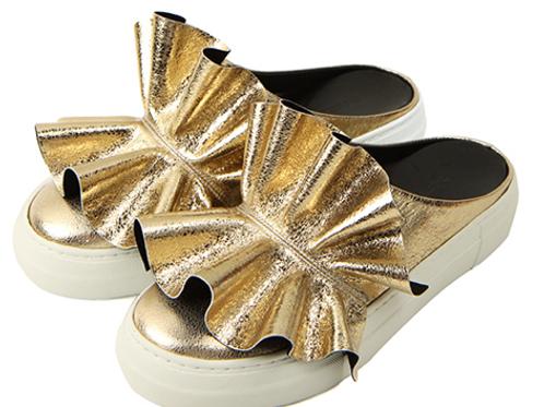 Festive Gold Slip-On