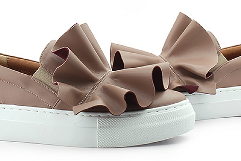 Ruffles Mud Slip-On