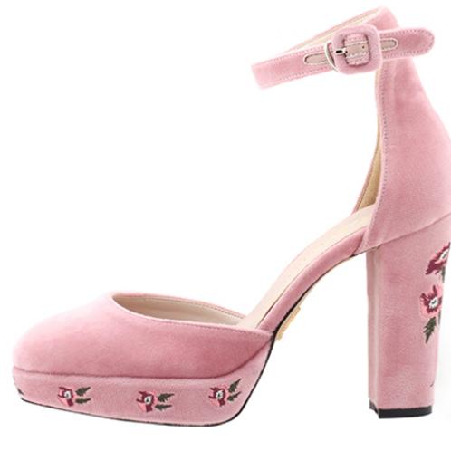 Sweet Romance Platform Heels