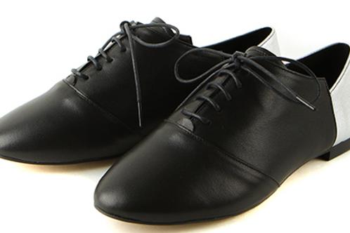 Black + Silver Sneakers