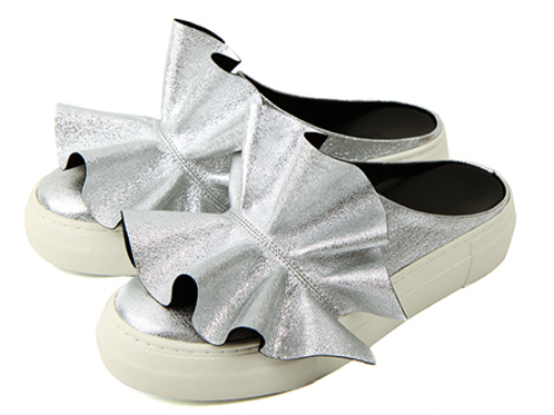 Festive Silver Slip-On