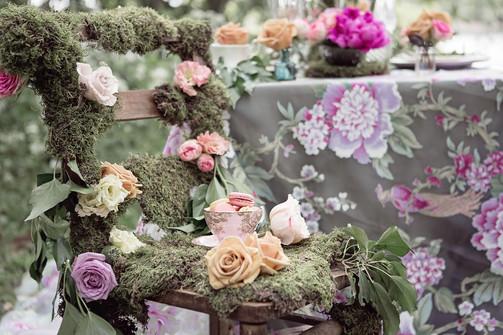 Floral Organza