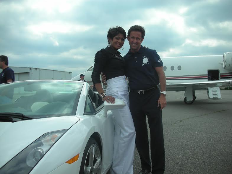 Jocelyn with Jet in Background.jpg