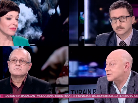 """Круглый стол"" на телеканале Дождь"
