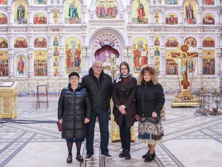 Востоковед Андрей Чупрыгин в Храме-Памятнике