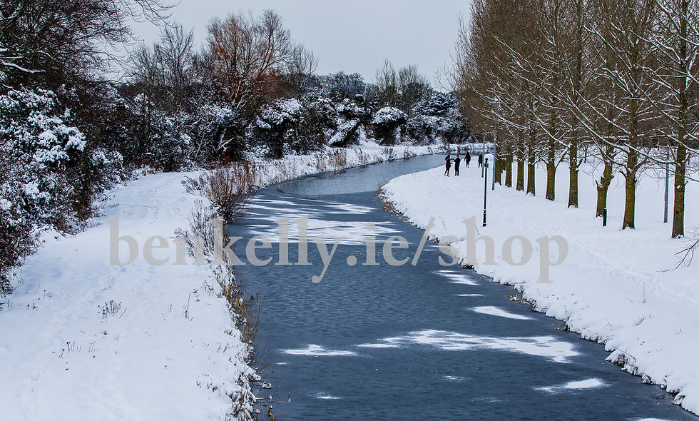 Canal Snow Naas